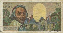 10 Nouveaux Francs RICHELIEU FRANCE  1961 F.57.13 TB+