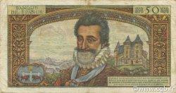 50 Nouveaux Francs HENRI IV FRANCE  1959 F.58.01 TB