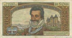 50 Nouveaux Francs HENRI IV FRANCE  1959 F.58.02 TB+