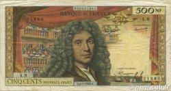 500 Nouveaux Francs MOLIÈRE FRANCE  1963 F.60.04 B à TB