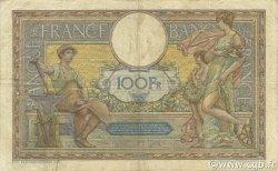 100 Francs LUC OLIVIER MERSON sans LOM FRANCE  1916 F.23.08 B à TB