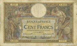 100 Francs LUC OLIVIER MERSON sans LOM FRANCE  1917 F.23.09 B