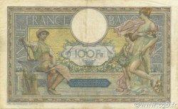 100 Francs LUC OLIVIER MERSON sans LOM FRANCE  1922 F.23.15 TTB