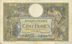100 Francs LUC OLIVIER MERSON sans LOM FRANCE  1923 F.23.16 TB+