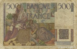 500 Francs CHATEAUBRIAND FRANCE  1948 F.34.08 B