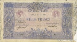 1000 Francs BLEU ET ROSE FRANCE  1920 F.36.35 B