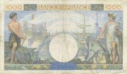 1000 Francs COMMERCE ET INDUSTRIE FRANCE  1940 F.39.02 TB+
