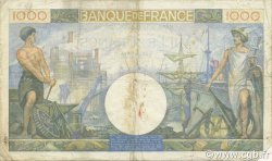 1000 Francs COMMERCE ET INDUSTRIE FRANCE  1940 F.39.03 TB+