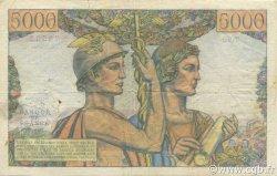 5000 Francs TERRE ET MER FRANCE  1952 F.48.06 TB+