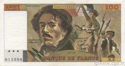 100 Francs DELACROIX FRANCE  1978 F.68.03 pr.SUP