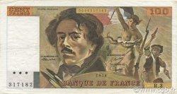 100 Francs DELACROIX FRANCE  1978 F.68.03 TTB