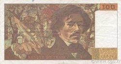 100 Francs DELACROIX imprimé en continu FRANCE  1993 F.69bis.08 TTB+