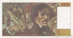 100 Francs DELACROIX 442-1 & 442-2 FRANCE  1994 F.69ter.01a SUP à SPL