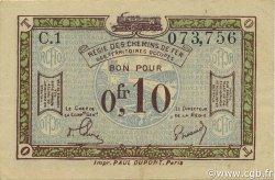 10 Centimes FRANCE régionalisme et divers  1923 JP.135.02 SUP