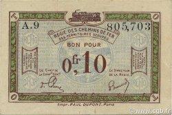 10 Centimes FRANCE régionalisme et divers  1923 JP.02 TTB+