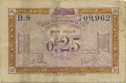 25 Centimes FRANCE régionalisme et divers  1923 JP.135.03 TB