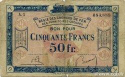 50 Francs FRANCE régionalisme et divers  1923 JP.09 B+