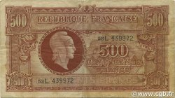 500 Francs Marianne FRANCE  1945 VF.11.01 TB+