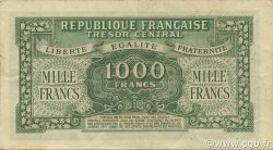 1000 Francs Marianne Chiffres maigres FRANCE  1945 VF.13.02 TTB