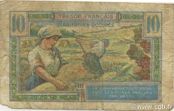 10 Francs Trésor Français FRANCE  1947 VF.30.01 pr.B