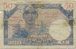 50 Francs Trésor Français FRANCE  1947 VF.31.01 B
