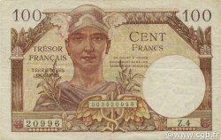 100 Francs Trésor Français FRANCE  1947 VF.32.01 TTB