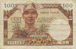 100 Francs Trésor Public FRANCE  1955 VF.34.01 pr.TTB