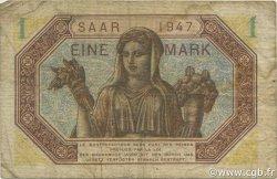 1 Mark Sarre FRANCE  1947 VF.44.01 pr.TB