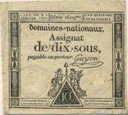 10 Sous FRANCE  1792 Ass.023a SUP+