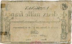 2000 Francs FRANCE  1795 Ass.051a TTB