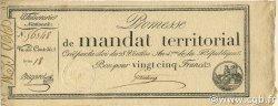 25 Francs FRANCE  1796 Ass.059b SPL