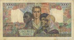 5000 Francs EMPIRE FRANÇAIS FRANCE  1946 F.47.52 TB+