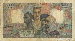 5000 Francs EMPIRE FRANÇAIS FRANCE  1946 F.47.53 TB
