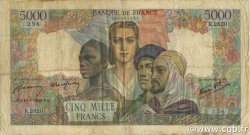 5000 Francs EMPIRE FRANÇAIS FRANCE  1946 F.47.55 B+