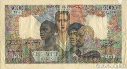 5000 Francs EMPIRE FRANÇAIS FRANCE  1947 F.47.58 TB