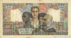 5000 Francs EMPIRE FRANÇAIS FRANCE  1947 F.47.59 TTB+