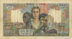 5000 Francs EMPIRE FRANÇAIS FRANCE  1947 F.47.59 TB à TTB