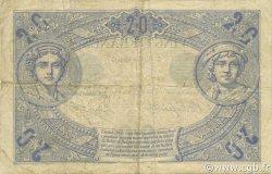 20 Francs NOIR FRANCE  1904 F.09.03 TB