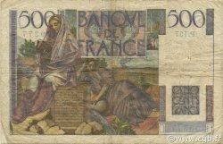 500 Francs CHATEAUBRIAND FRANCE  1953 F.34.11 TB