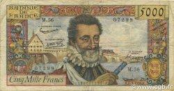 5000 Francs HENRI IV FRANCE  1985 F.49.06 pr.TB