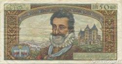 50 Nouveaux Francs HENRI IV FRANCE  1959 F.58.03 pr.TTB