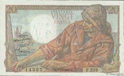 20 Francs PÊCHEUR FRANCE  1949 F.13.16 SPL