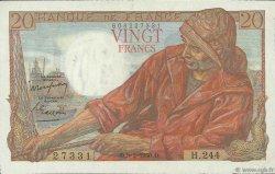 20 Francs PÊCHEUR FRANCE  1950 F.13.17 SUP