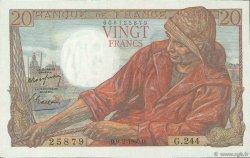20 Francs PÊCHEUR FRANCE  1950 F.13.17 SUP+ à SPL