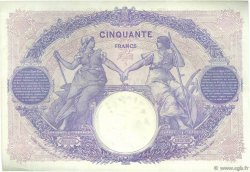 50 Francs BLEU ET ROSE FRANCE  1919 F.14.32 TTB+