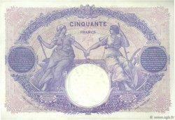 50 Francs BLEU ET ROSE FRANCE  1919 F.14.32 pr.SUP
