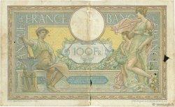 100 Francs LUC OLIVIER MERSON sans LOM FRANCE  1910 F.23.02 pr.B