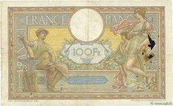 100 Francs LUC OLIVIER MERSON sans LOM FRANCE  1911 F.23.03 B
