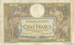 100 Francs LUC OLIVIER MERSON sans LOM FRANCE  1914 F.23.06 B