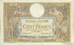 100 Francs LUC OLIVIER MERSON sans LOM FRANCE  1914 F.23.06 TB